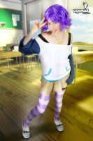 Mizore requested by Neodamon by cosplayerotica