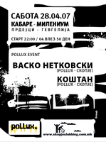 flayer 4 pollux party by indog
