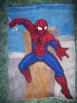Spidey Tapestry by SilverGryphon8