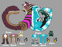 Tailmouth Adopts Batch 2 :CLOSED: by Blinded-By-Stones