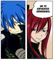 Jellal and Erza 281 by imagleekandproud
