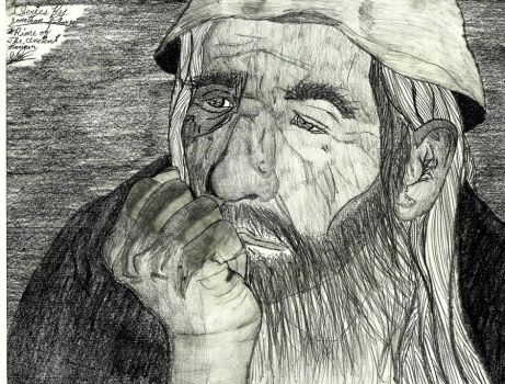 The Ancient Mariner now wiser, pondering by GalaxyDestroyer