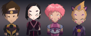 Group code lyoko season 4 by lyoko124