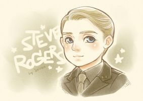[FA] Tiny Steve Rogers by seirenity