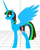 MMD Alicorn Me by AmandaTaylor
