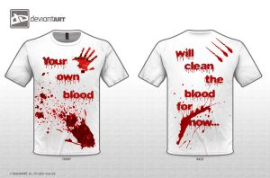 Original Quote Entry Blood by CrudeKillerH20