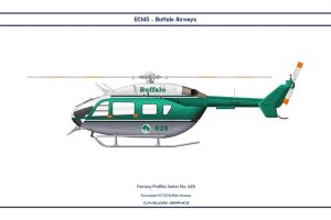 Fantasy 628 EC145 Buffalo Airways by WS-Clave