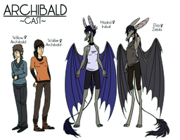Archibald Main Cast Ref by NuclearLoop