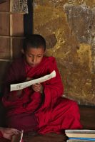 Young Buddhist Monk by ernieleo