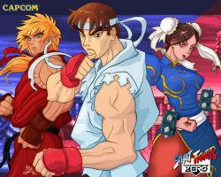 Street Fighter Love by privodanima