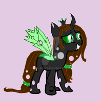 Me as a changeling by rose-angle