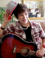 Austin Mahone Guitar by clfiber