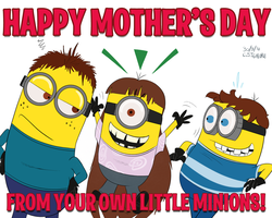 Mother's Little Minions by qwertypictures