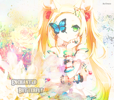 Enchanted Butterfly by Chocolat-chi