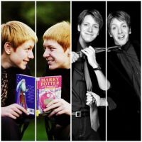 James and Oliver Phelps by potterforever
