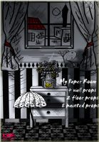 My paper room by K-raven