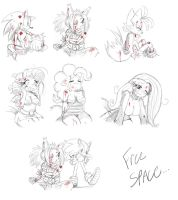 Random :SF3:Defeated Sketches by ss2sonic
