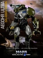 MassEffect Jaeger Mashup Salarian Aegohr Ultra by rs2studios
