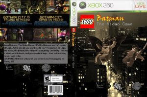 Lego Batman Cover by VanchaAyris