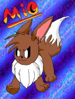 Mio The Eevee by Sonic201000