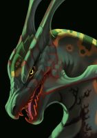 Rayquaza by Silverbirch