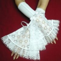 Victorian Wedding Gloves by Estylissimo