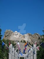 Mount Rushmore by bigbirdsinsmallcages