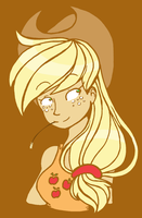 Applejack by CuddlesAndHuggles