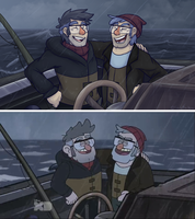 i'm so happy they made up (gf spoilers) by Pikachu-Noises