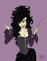 Bellatrix Lestange by Bonequisha