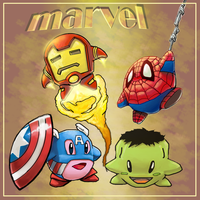 Marvel vs Kirby by soulrailer