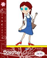 Toy Girls - Arts n Crafts Series 21: Dorothy Gale by mickeyelric11