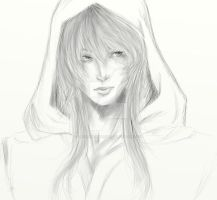 Oshiro Sora Sketch Wip by ThoughtfulThorn