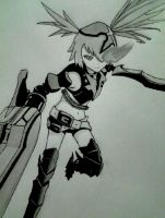 Insane Black Rock Shooter by Yoruny