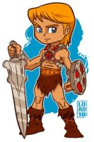 Lil He-Man by lordmesa