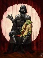 Vader comic reprise by Larbesta