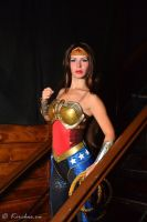 Wonder Woman cosplay from Injustice by Nemu013