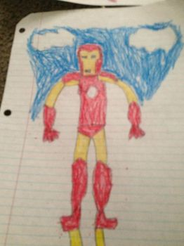 Iron Man Coloring by Simpsonsfanatic33