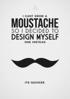 Digital Moustache by jamesy165