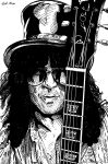 Slash (Ink) by KeithMeyerArt