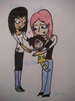 One Big Happy Family by LittleMnM