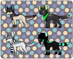 cheap canine adopt set by naeggi