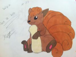 vulpix by mydogbridget