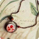 Red Poppies necklace by BeautySpotCrafts