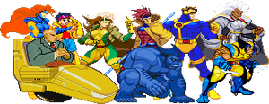90s X-Men Sprites by True-BackLash