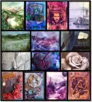 A collection of ATC'S by pbird12