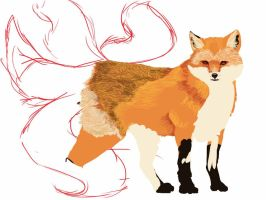 Vulpes Ignus (2) by Kendra-candraw