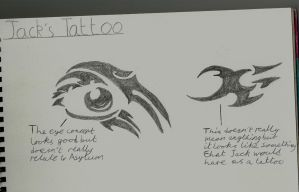 Jack's Tattoos Concepts by TengenTopper994