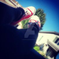 Red Chucks by nessahlovee