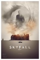 Skyfall fan poster by crqsf